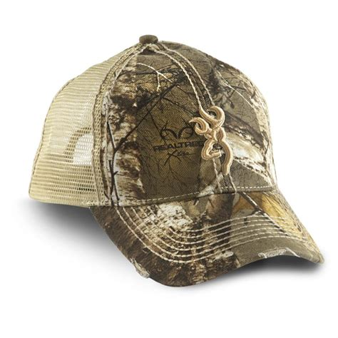 browning 174 bozeman mesh back hat realtree xtra 174 597495