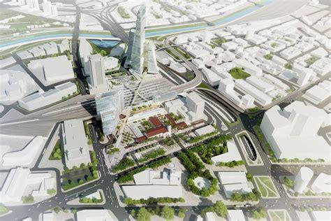 Bus Terminal Floor Plan Design by Grimshaw Gruen Finalize Master Plan For Los Angeles