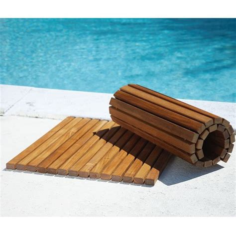 Outdoor Shower Mat by Teak Shower Mat Teak Floor Mats Teak Spa Mat