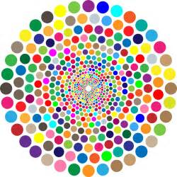 colorful circles clipart colorful concentric circles vortex