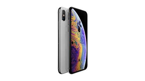 apple iphone xs gb silver harvey norman