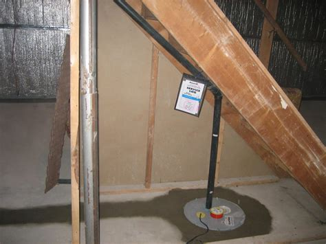 install sump in basement new sump installation in toronto basement