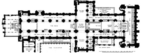 Floor Plan Of Cathedral by Medieval Durham Cathedral Plans And Drawings