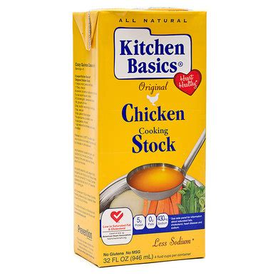 Kitchen Basics Vegetable Stock Ingredients by Chicken Broth