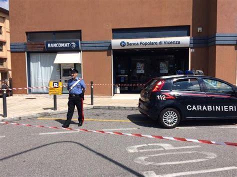 banco di brescia vicenza trovato residuato bellico davanti a filiale della popolare
