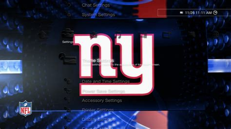 themes playstation store nfl giants highlights static theme on ps3 official