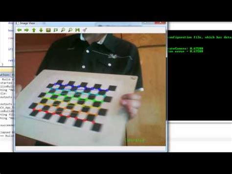 measure distance with stereo web cams using opencv with