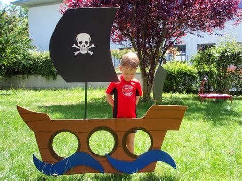 barco pirata hecho en carton 6 juguetes de cart 243 n f 225 ciles pequeocio