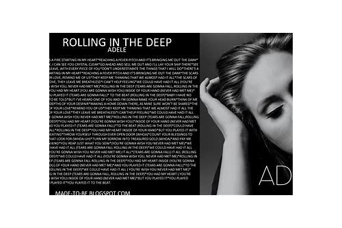 adele rolling in deep song download