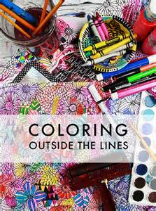 coloring outside the lines alisaburke coloring outside the lines