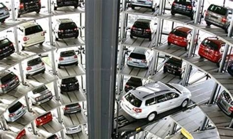 Automated Parking Garage Systems by How Automated Parking Systems Work Autoevolution