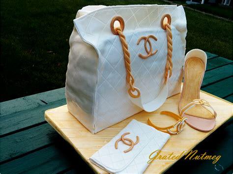 Chanel Bag Cake ? Grated Nutmeg