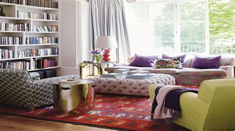 home interior decorating ideas hippie boho living room