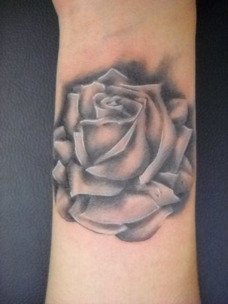 black and gray rose tattoo meaning black and gray by robin pajzs tattoonow