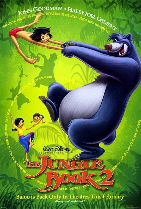 Jungle Book 2 2003 Full Movie Primate Info Net Motion Pictures Featuring Nonhuman Primates