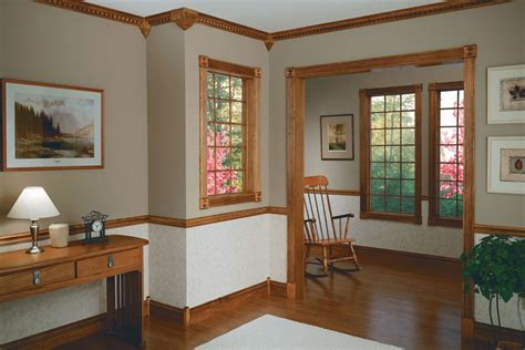 stained trim trim stained trim wood trim and chair rail molding