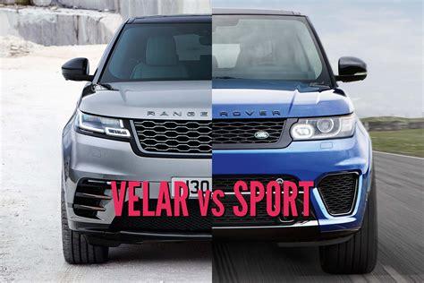 range rover velar vs sport 2018 range rover velar vs range rover sport picture
