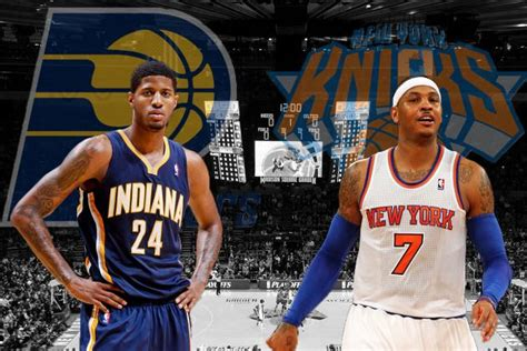 Indiana Pacers Vs New York Knicks 2 by Indiana Pacers Vs New York Knicks Eastern Conference