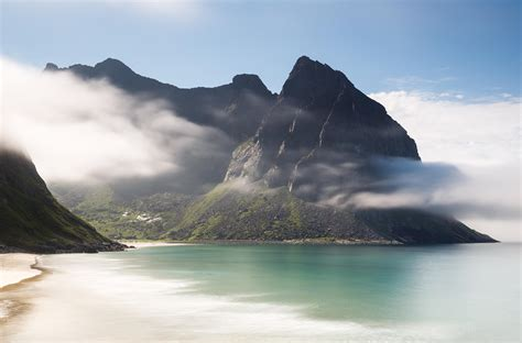 beautiful beaches kvalvika lofoten most beautiful i