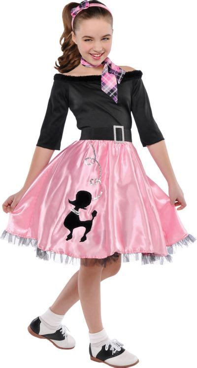 50 theme costumes hairdos girls miss sock hop costume party city