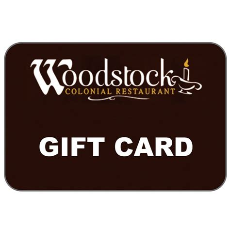 Gift Cards For Multiple Restaurants - woodstock colonial restaurant 25 imprint specialty promotions