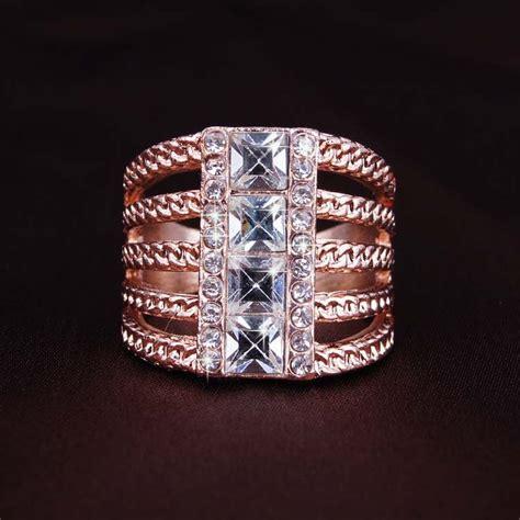 aliexpress buy gold ring austrian crystals