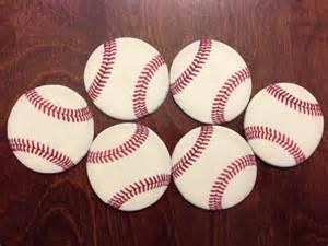 Edible Decorations Baseball Cupcakes Ninjasweets Com