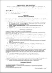 pharmaceutical sales resume exle resume sles