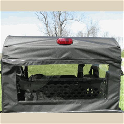 gcl soft rear panel for the john deere gator
