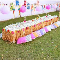 Hawaiian luau birthday party printables collection pink lime and