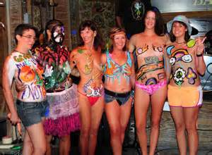 amateur body painting body painting pictures