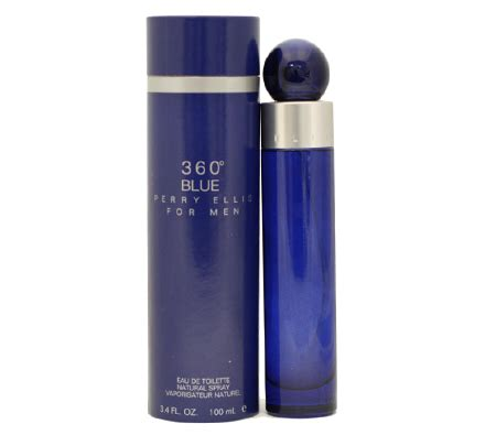 Perry Ellis 360o Blue For Edt 100ml perry ellis blue perfume fragrance www crazysales au