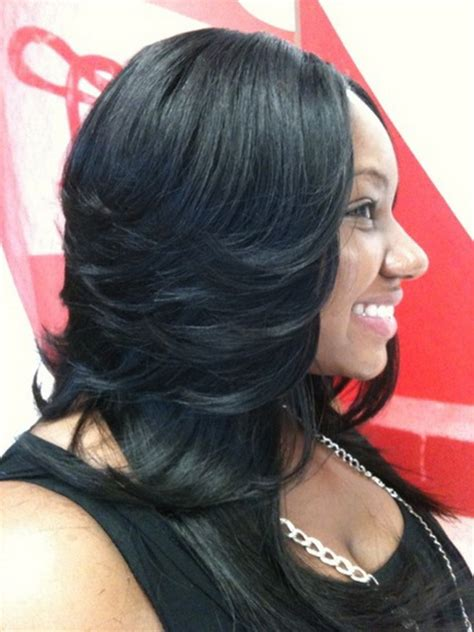 sew in weave short hair atlanta sew in hairstyles long hair