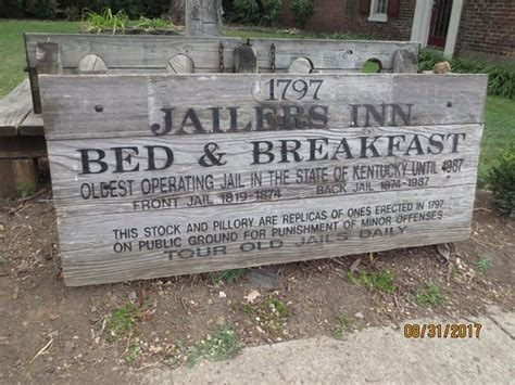bed and breakfast bardstown ky jailers inn sign picture of jailer s inn bed and