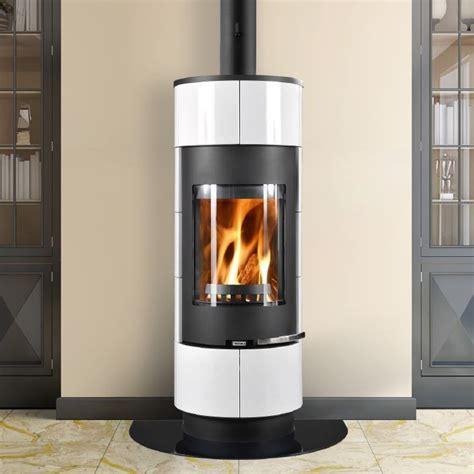 Thorma Cadiz Black and White Wood Burning Stove