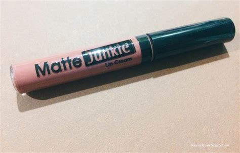 Silkygirl Get Matte Lip review silkygirl matte junkie lip in retro iman