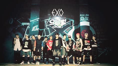 Wallpaper Exo Growl | music exo 으르렁 growl mv repackage album 歌詞