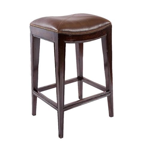 best deals on bar stools sonoma italian leather and alder wood barstool