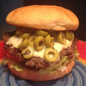 garden green olive burger picture of granbury