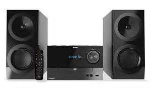 compact shelf system hi fi cd fm stereo system with