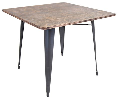 Grey Wood Dining Table Oregon Dining Table Gray Wood Modern Dining Tables By Etriggerz