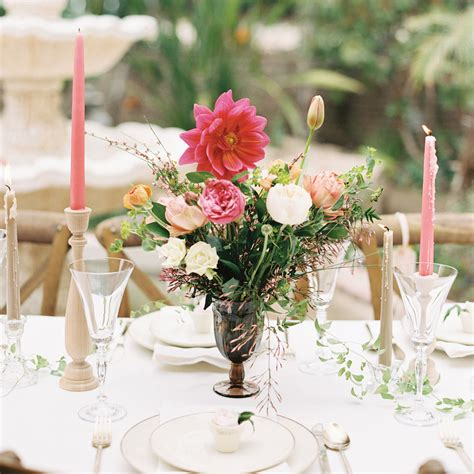 bridal shower centerpieces images a garden themed bridal shower bridalguide