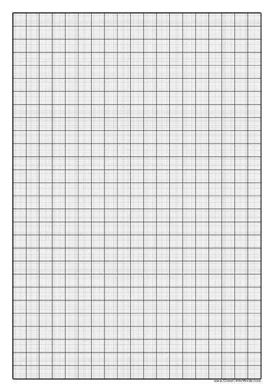 Printable Graph Paper 1mm | graph paper to print 1mm squared paper