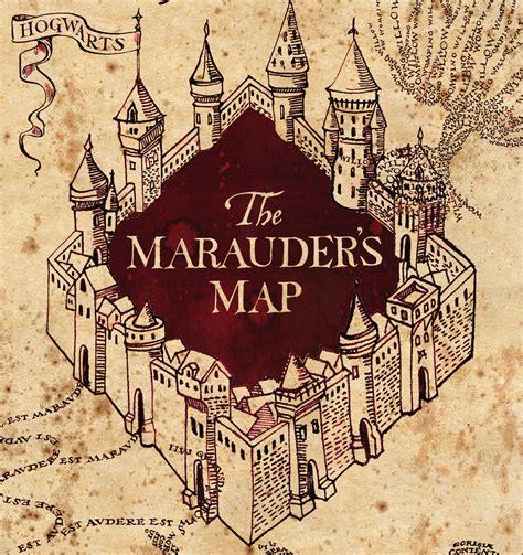 marauders map printable template card the marauder s map forum dafont
