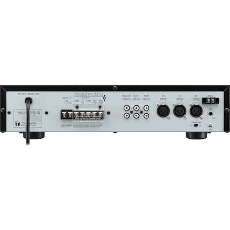 Mixer Lifier Toa toa a2120 120w mixer power lifier 3x mic 2x aux inputs toa radio parts electronics