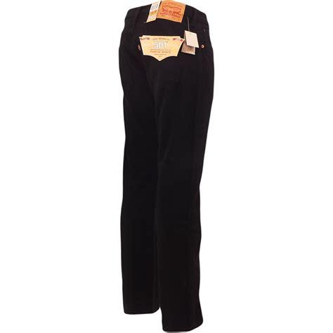 Setelan Levis 501 Black mens levi s 501 black denim jean new original levi strauss trouser pant ebay