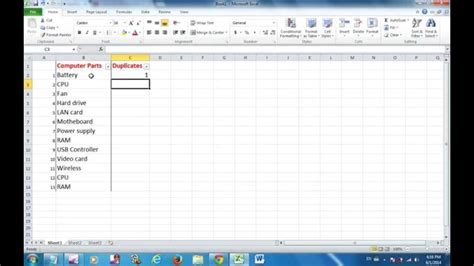 excel tutorial remove duplicates excel 2010 tutorial how to find and remove duplicates