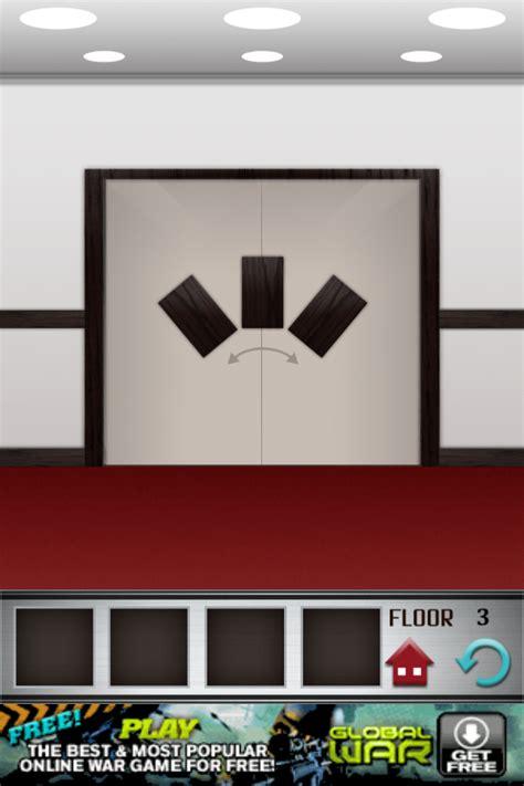 100 Floors Level 3 100 floors walkthrough cheats review 100 floors level