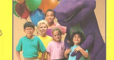barney backyard show video barney the backyard gang the backyard show vhs books