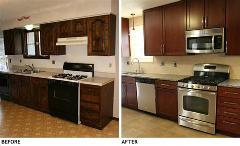 remodeled kitchens before and after